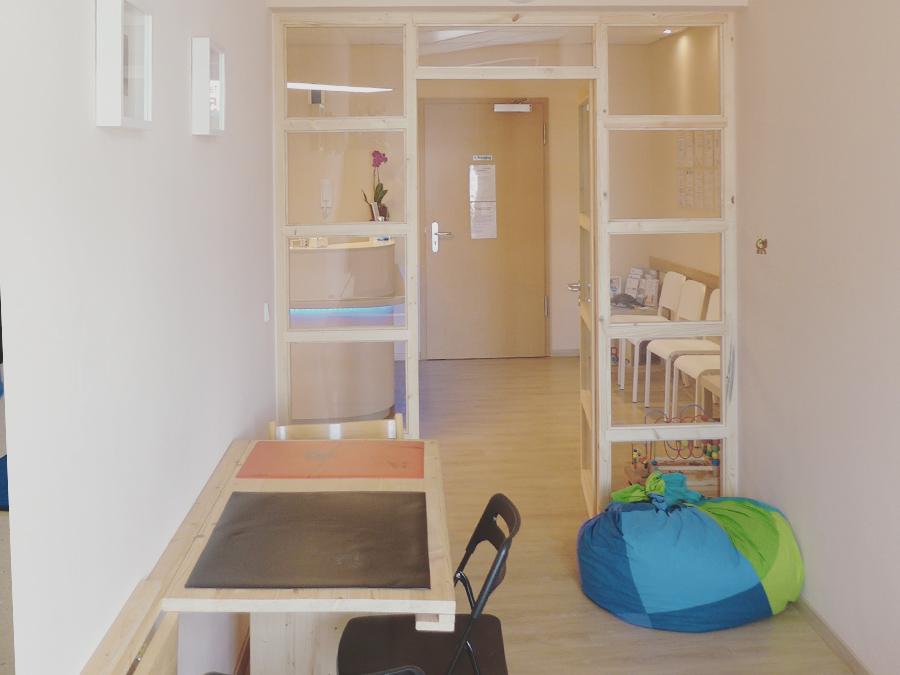 Übungsraum der Ergotherapie Dresden